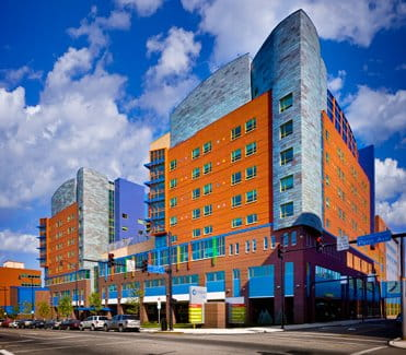 Children's Hospital of Pittsburgh of UPMC exterior daytime