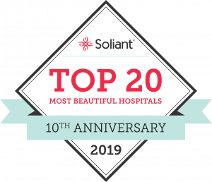 Soliant Health's 7th annual list of the 20 Most Beautiful Hospitals in America.