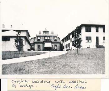 1880s Original Children's Hospital Building