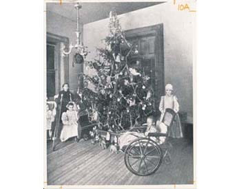 Children's Hospital of Pittsburgh Christmas 1902