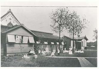 Children's Hospital of Pittsburgh Fresh Air Pavilion 1912