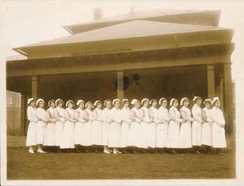 Children's Hospital of Pittsburgh Nursing Students 1900's