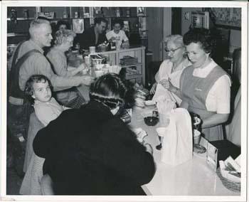 Mrs. H. Sherman, Snack Shop Volunteer, 1960