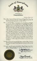 State of Pennsylvania historical document