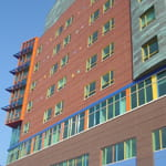 Children's Hospital of Pittsburgh of UPMC CHP campus side view