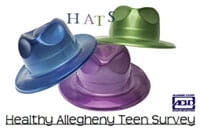 HATS Healthy Allegheny Teen Survey research