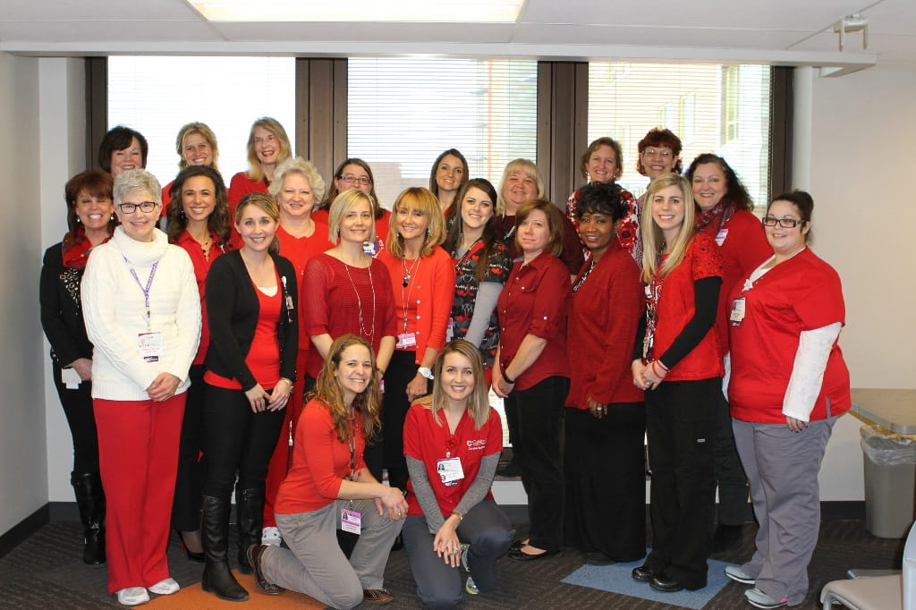 Wear Red Day - February 5, 2016