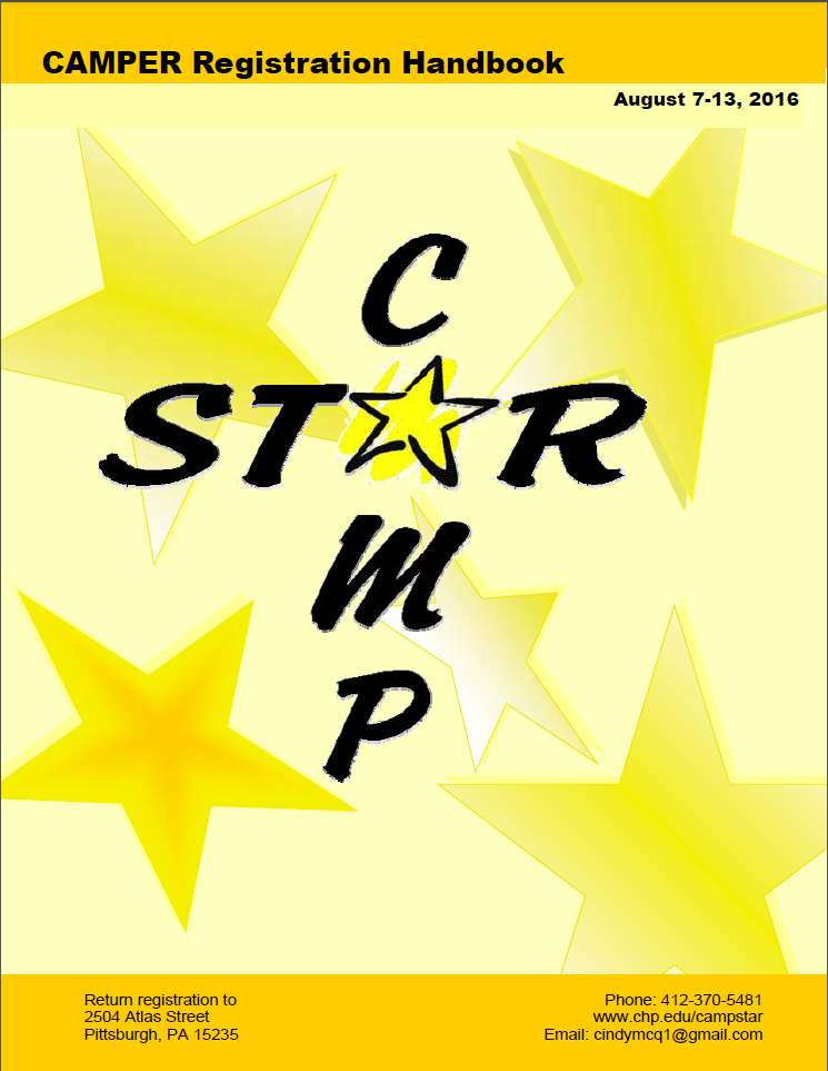 Camp Star Registration Handbook