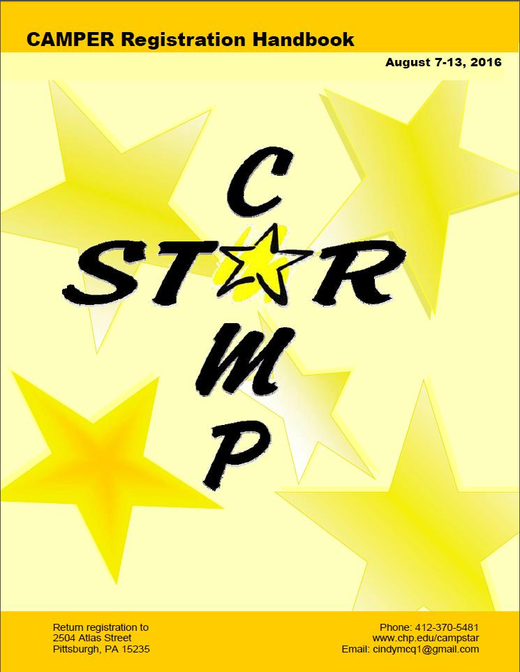Camp Star Registration Handbook