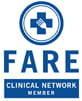 Food Allergy Research & Education (FARE) Clinical Network logo