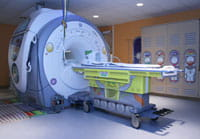 'Outer Space' MRI scans in the Radiology Adventure Rooms.
