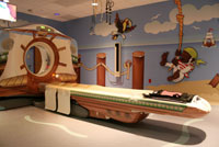 """Pirate Ship"" scans in the Radiology Adventure Rooms."