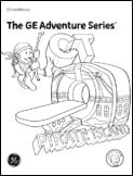 Radiology Adventure Series Coloring Books CT scan boy