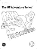 Radiology Adventure Series Coloring Books MRI scan boy