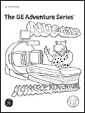 Radiology Adventure Series Coloring Books NUC-MED scan boy