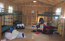 Camp Chihopi cabin interior
