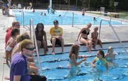 Camp Chihopi pool
