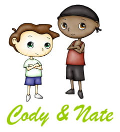 Cody and Nate cartoon