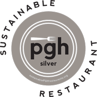 Silver Plate for Sustainable Pittsburgh Restaurant