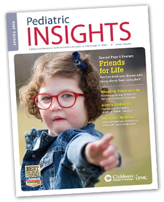 Pediatric Insights Online: Spring 2016