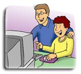 Injury Prevention Internet Safety cartoon