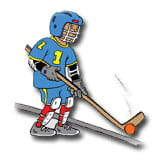 Injury Prevention Dek Hockey cartoon
