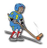 Injury Prevention Dek Hockey cartoon