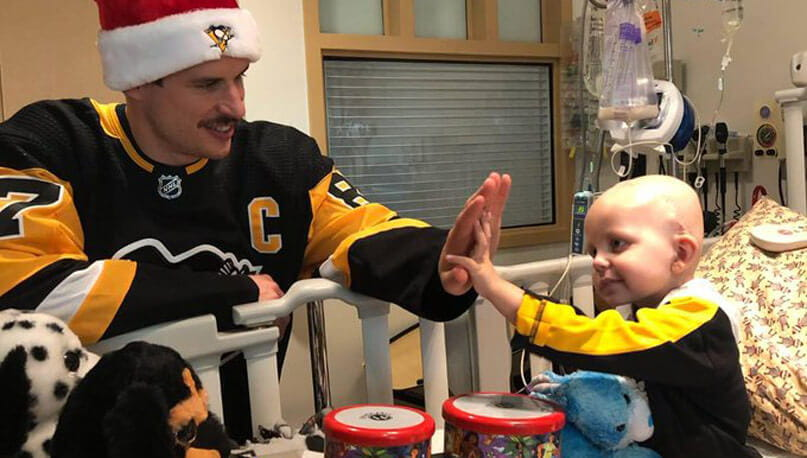 Wishing the Pittsburgh Penguins the best of luck in the Playoffs from UPMC Children's Hospital of Pittsburgh