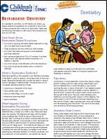 Restorative Dentistry PDF