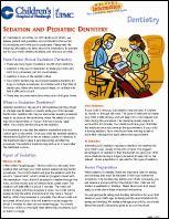 Sedation and Pediatric Dentistry PDF