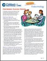 Continuous Glucose Sensor PDF