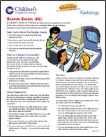 Barium Enema BE PDF