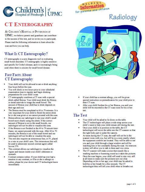 CT Enterography