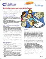 Upper Gastrointestinal UGI Series PDF