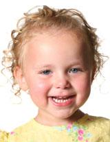 Blonde-haired little girl