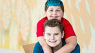 Learn more about Zachary and Collin's Crohn's disease and experience with stem cell transplants at Children's Hospital of Pittsburgh of UPMC.