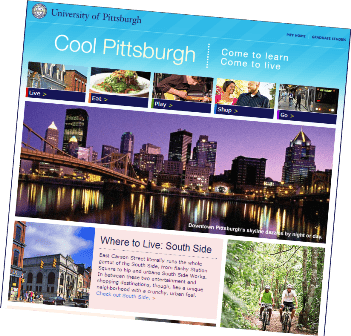 Learn more living in Pittsburgh while being in your Residency.