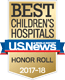 Best Children's Hospital 2015-2016 by US News & World Report